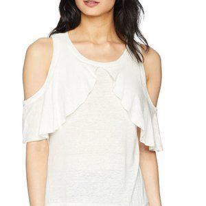 Women's off shoulder Ruffle fold top